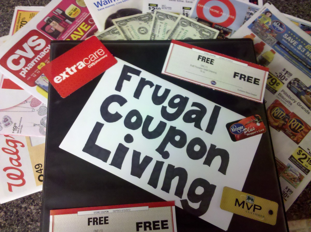 Learn the basics of frugal coupon living to cut your grocery bill in half!