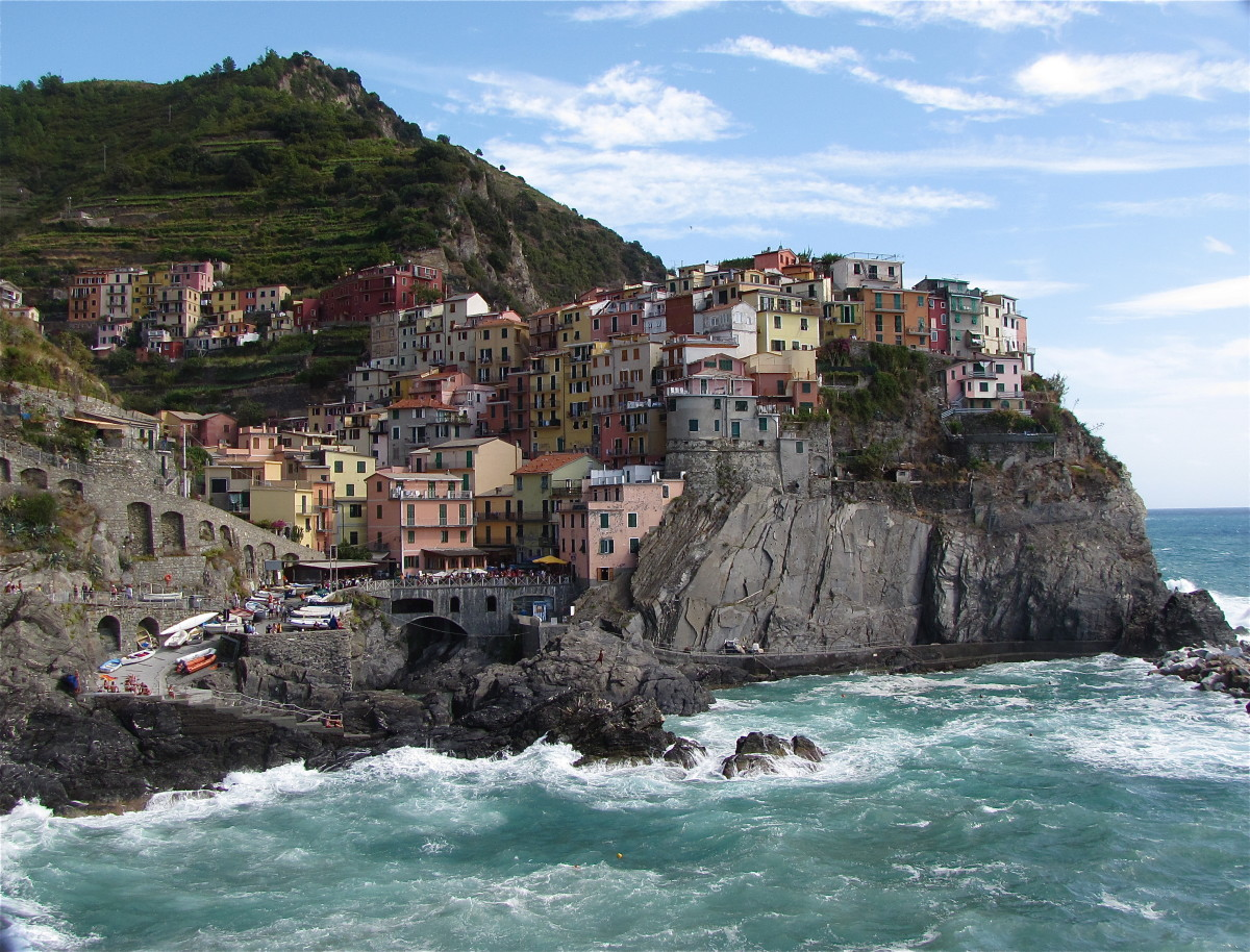 The Beautiful Village's of the Cinque Terre