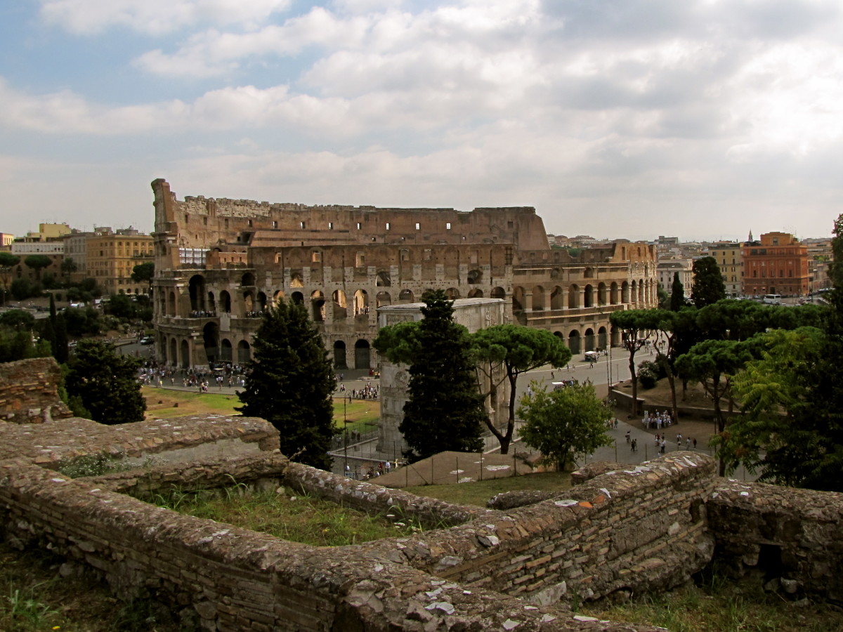 Colosseum from Palatine Hill
