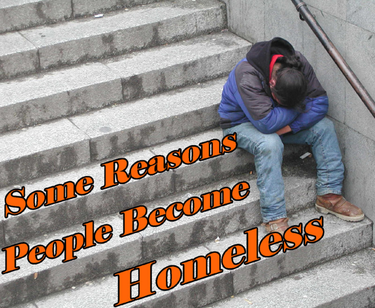 Learn a few of the reasons people become homeless.
