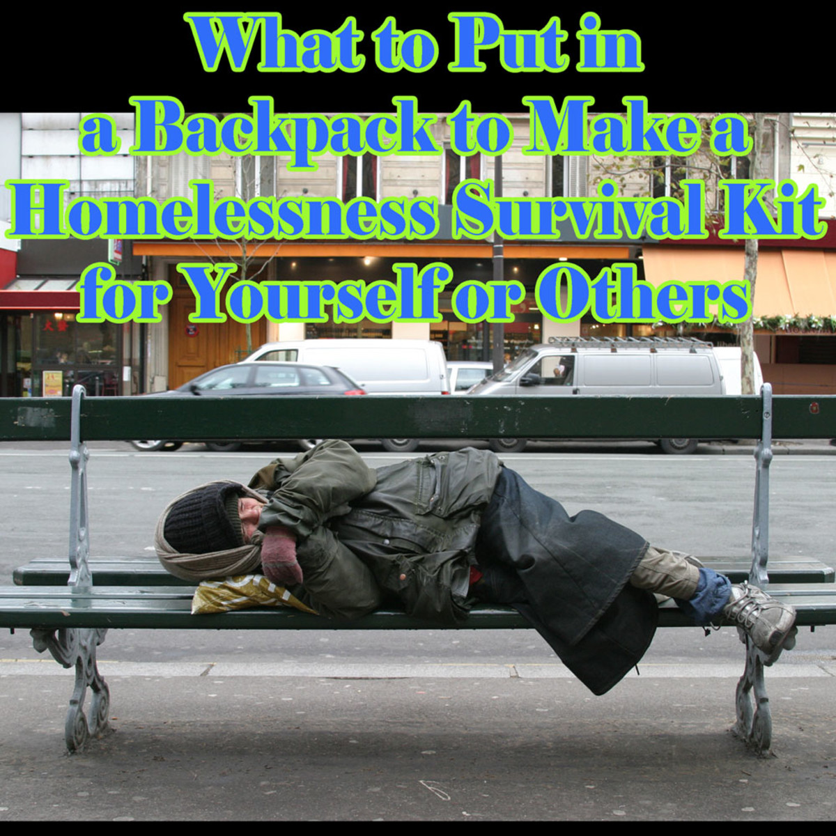 What to Buy if You Are Homeless
