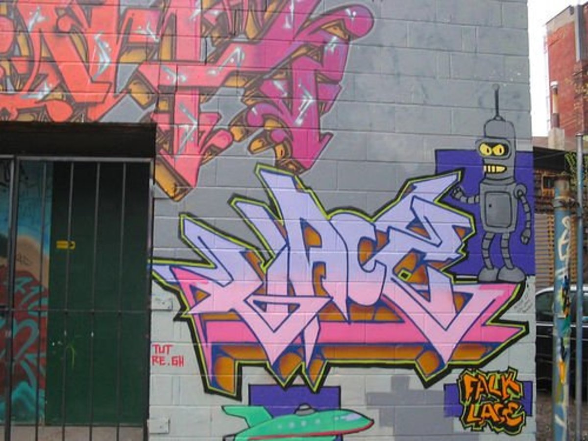 Graffiti--Property Crime