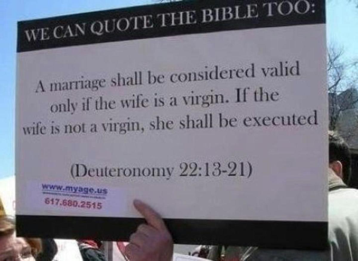 from Gianni bible against gay marriages