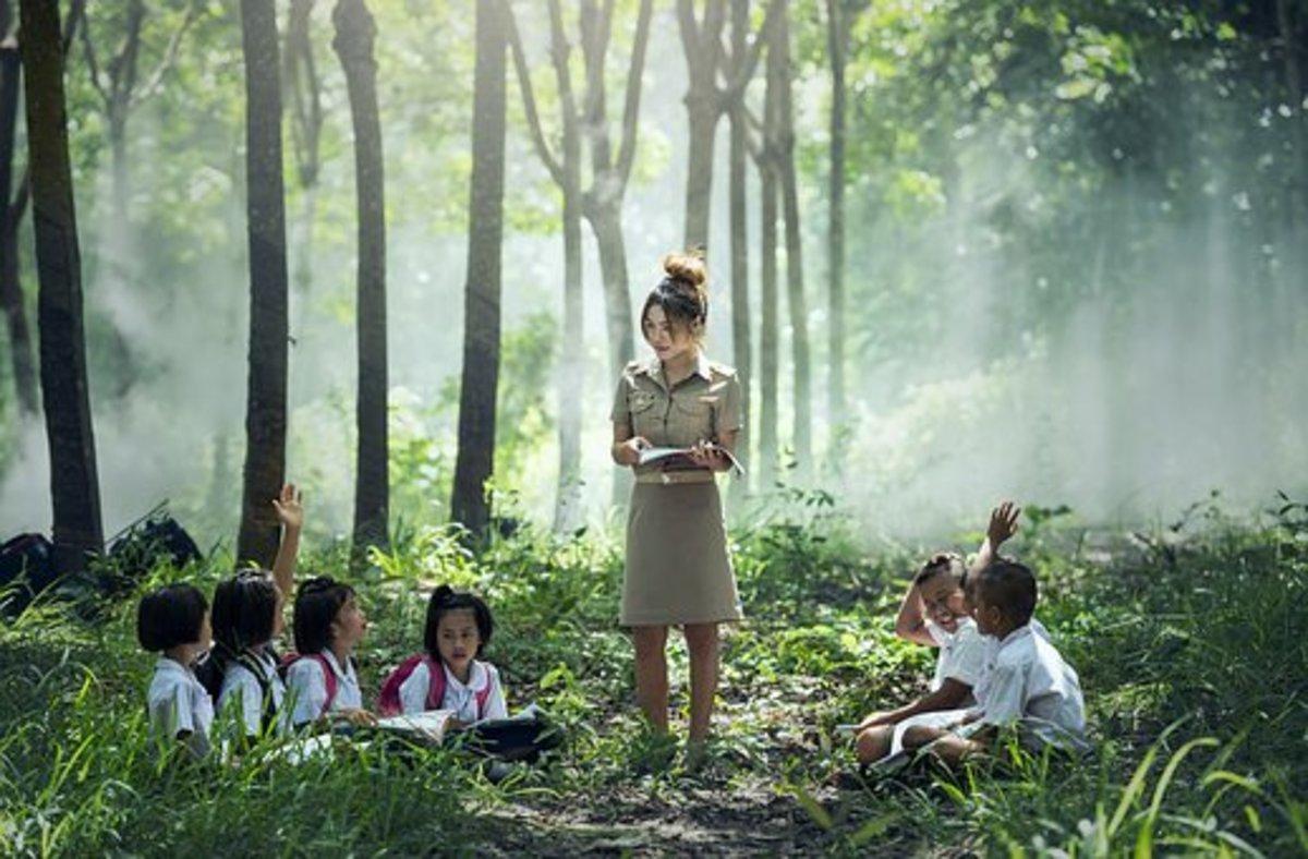 Catholic School Teachers Imparting Moral Values