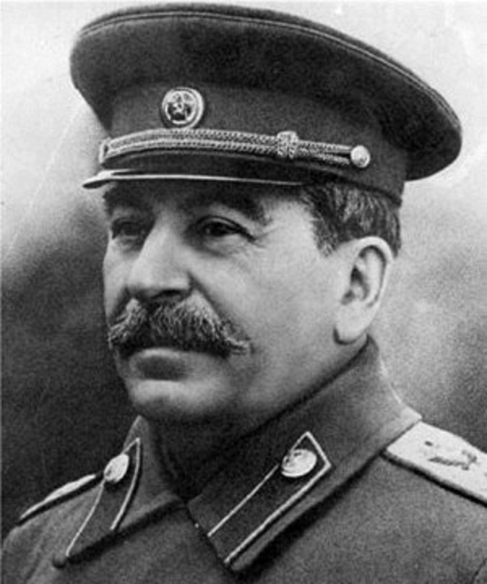 Josef Stalin - One Of History's Most Prolific Murderer, An Atheist That Endorsed Gun Control.