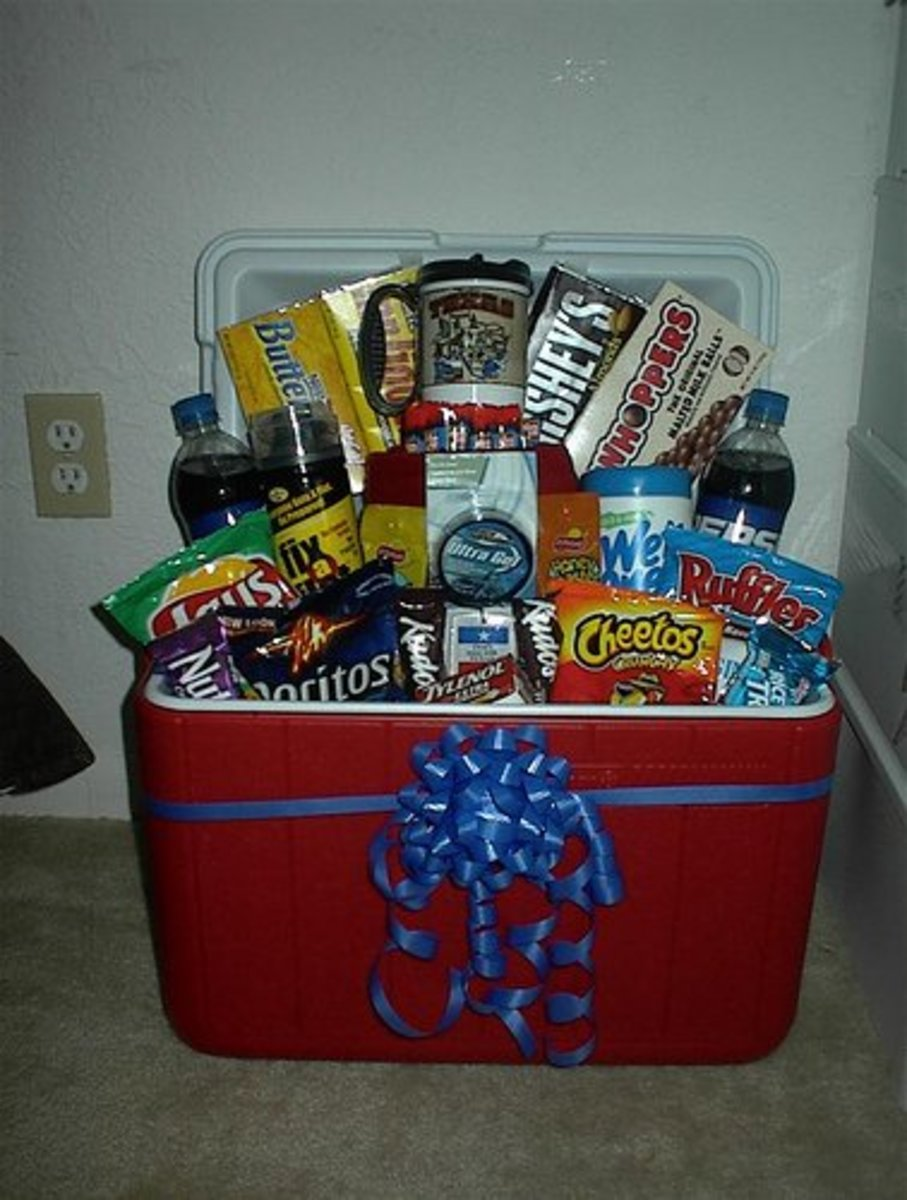 "Creative ""basket"" idea."