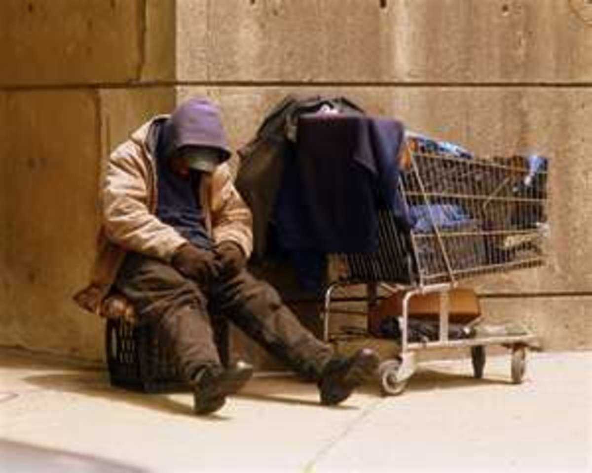 Social Problems:  Homelessness in the United States