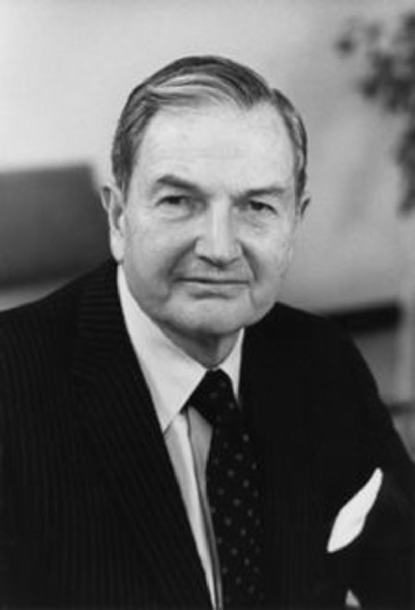 One of the World's Wealthiest Men: A Younger David Rockefeller