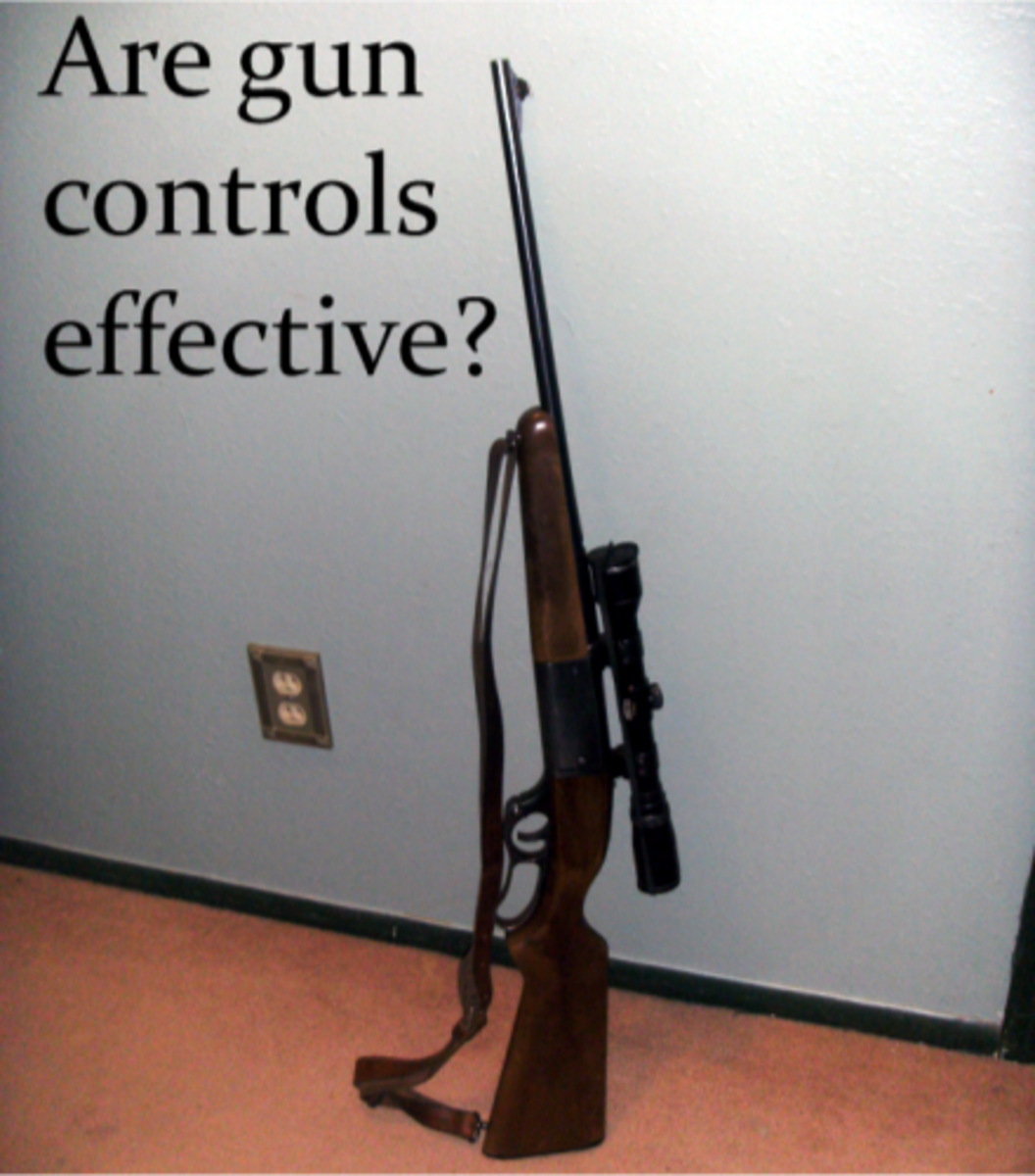 essays about gun control Thesis statement: gun control decreases crime if gun control is regulated, then we will have less crime access to firearms makes killing easy, efficient, and impersonal, which increases the lethality of crime.