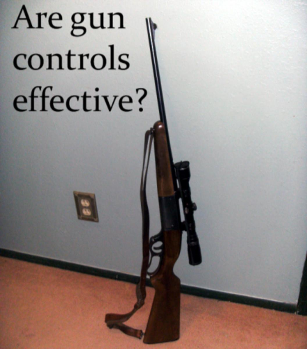Gun Control and Crime Statistics: Does Gun Control Reduce Crime?