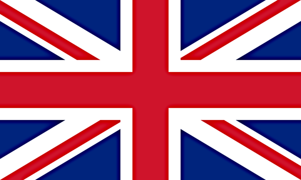 The Flag of England, Wales, Scotland and Ireland as it existed from 1801 to 1948. From 1948 only the six northern counties of Ireland have been  represented by the same flag