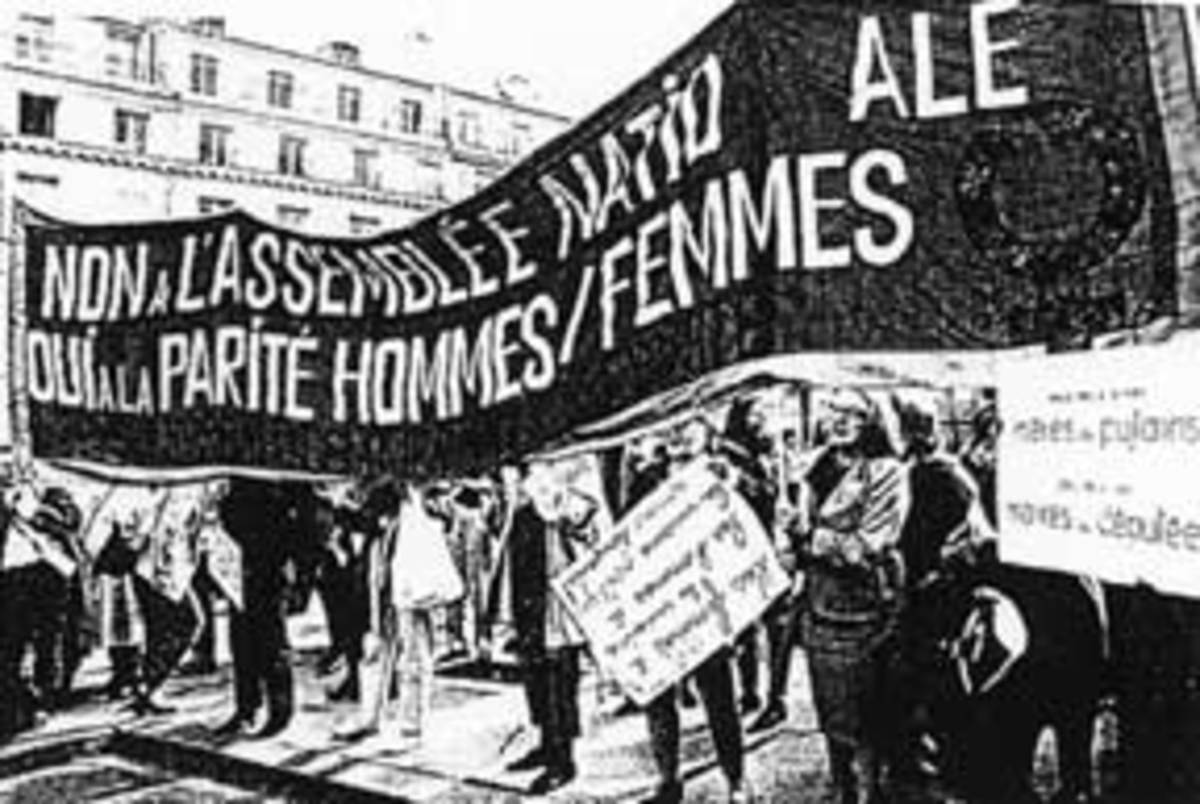 French suffragettes