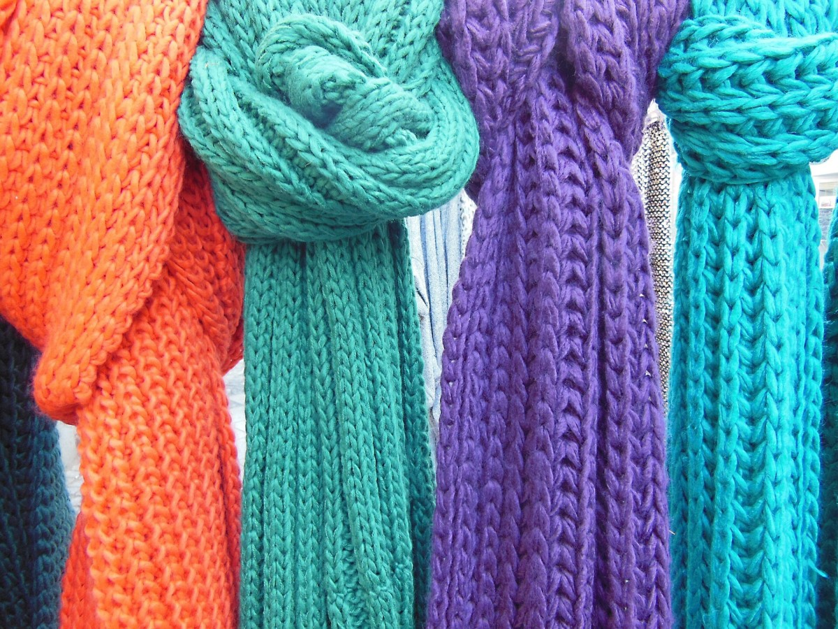 Knitting Scarves For The Homeless : Knitting for charity how to use your craft hobby help