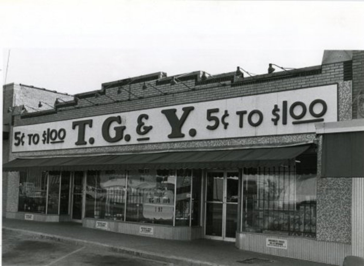 A TG&Y variety store.