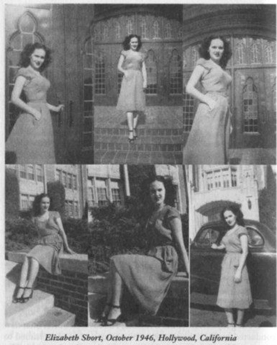 Elizabeth Short Modeling