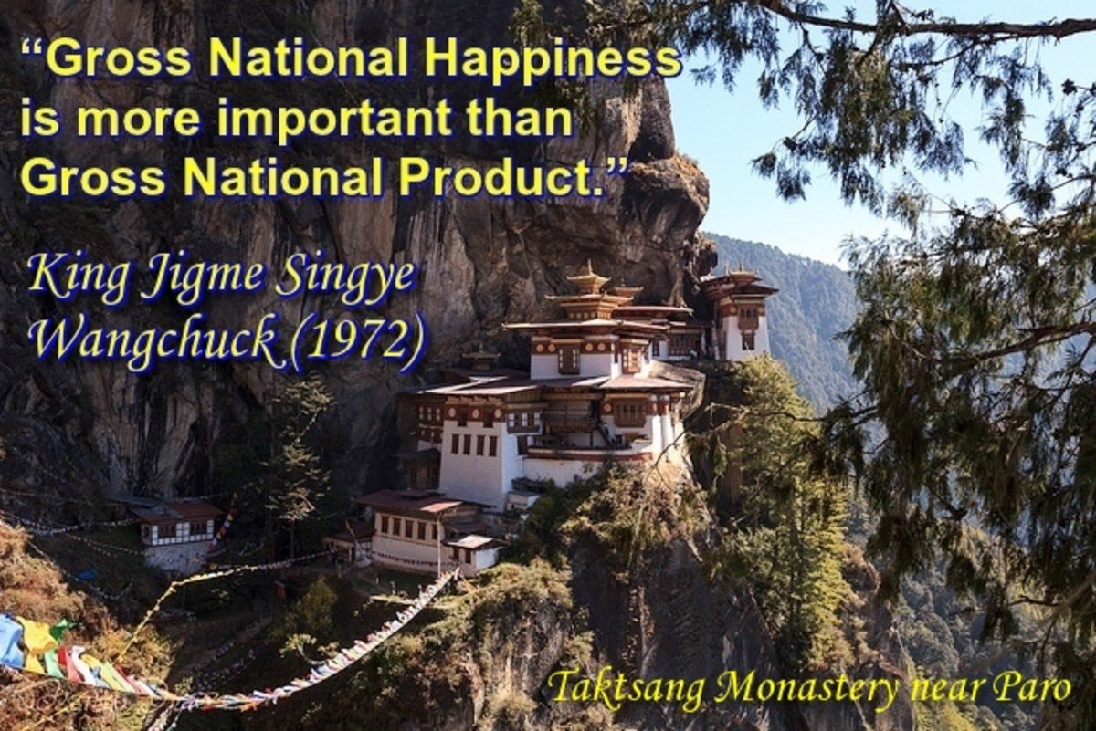 Bhutan's Gross National Happiness (GNH):  A Sane Idea That Could Change The World