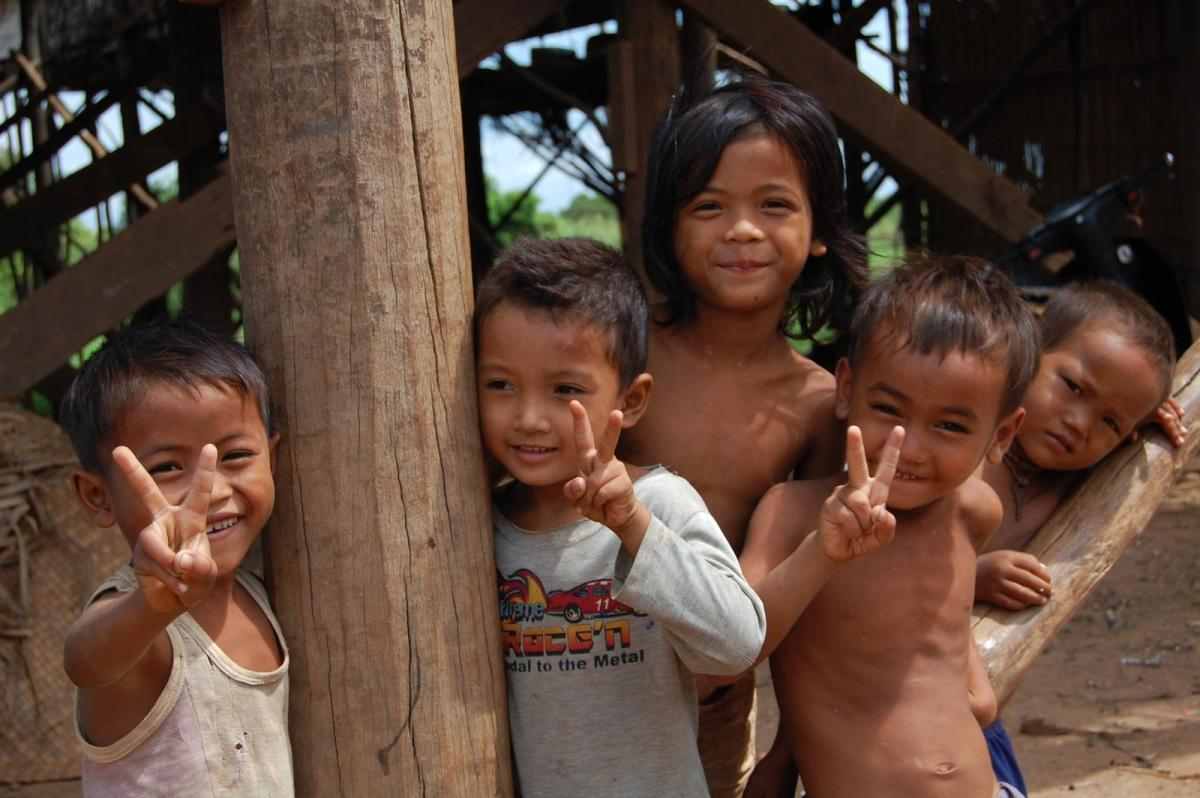 Sadly, children all ove rthe world live with poverty.
