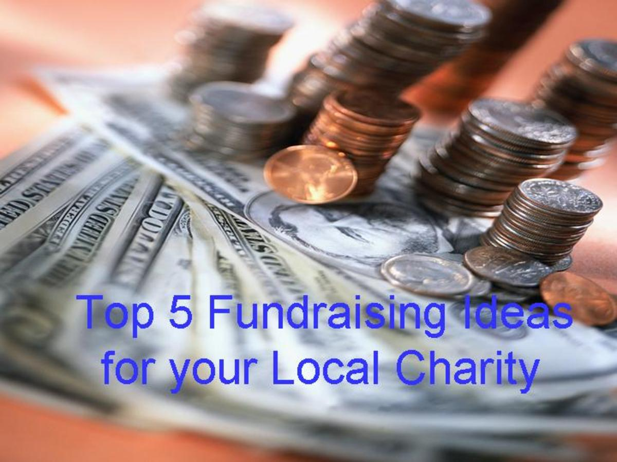 How can you increase fundraising and increase donations for your local charity?