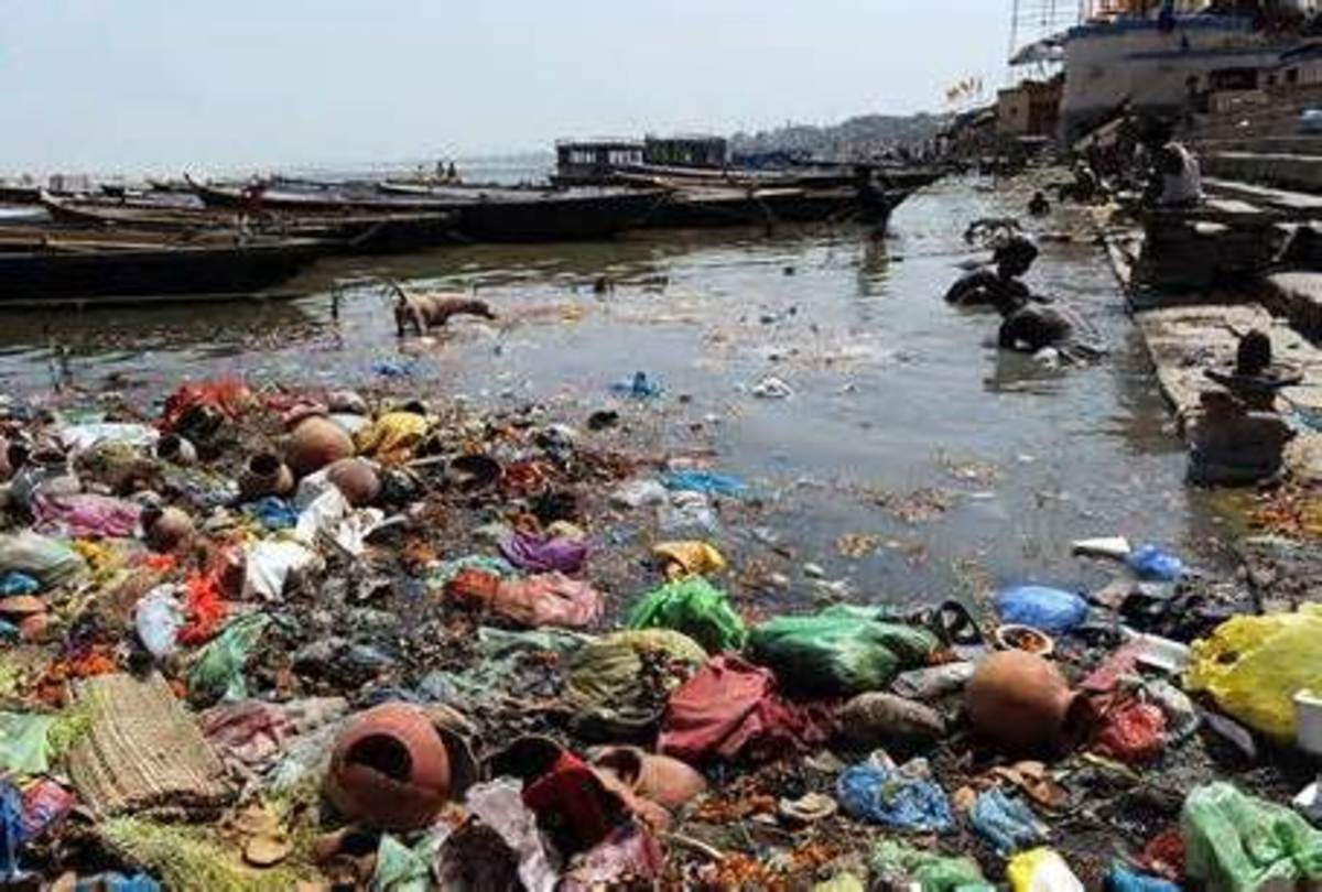 Image result for polluted river america