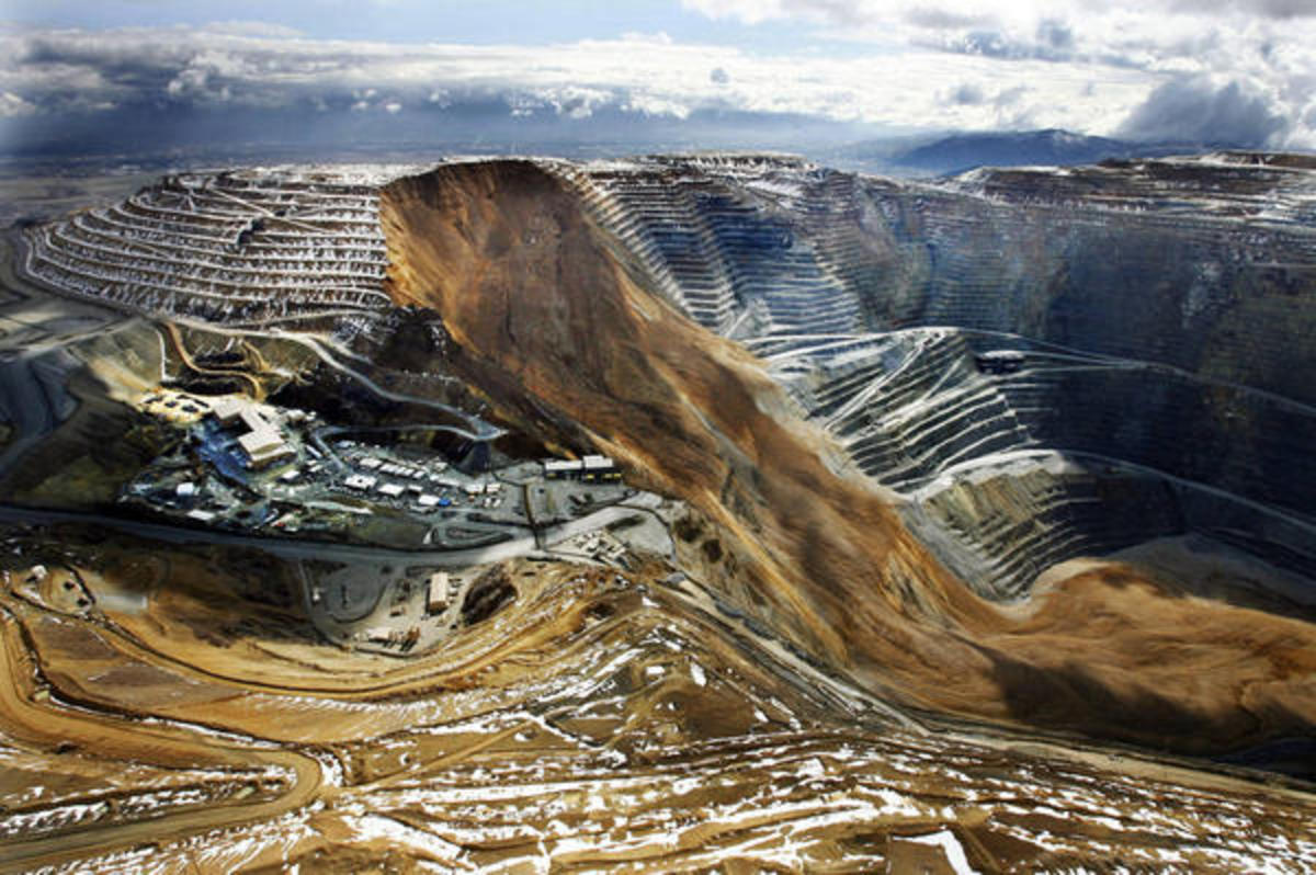 Kennecott Utah Copper: Bingham Canyon Mine