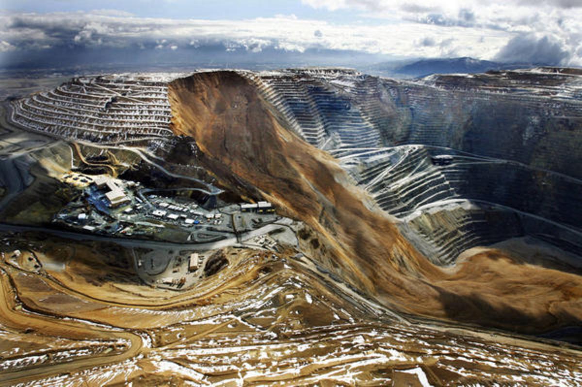 Bingham Canyon 2013 Landslide
