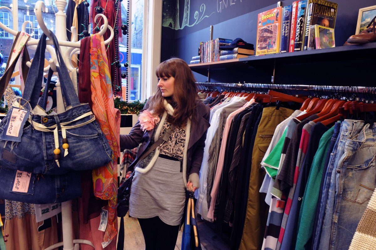Charity shops scam