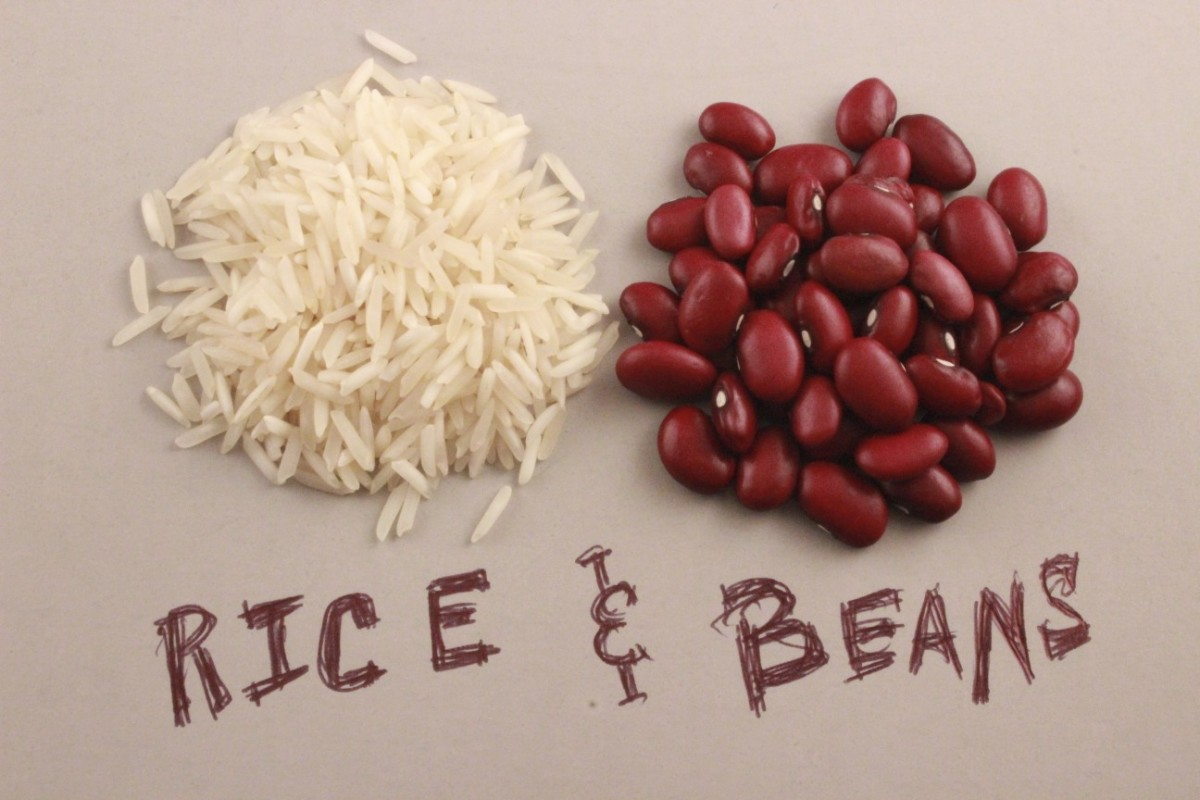 Dave Ramsey's Advice to Eat Rice and Beans for a Year?  Well, Not Really Just Rice and Beans