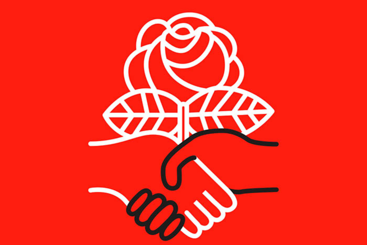 Symbol of Democratic Socialists of America, DSA