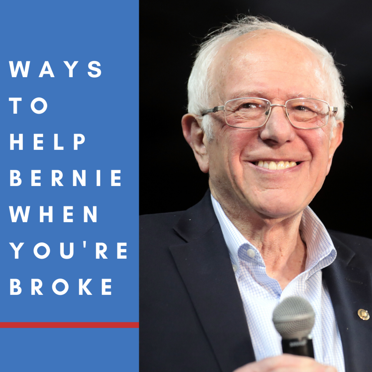 Ways to Help Bernie When You're Too Broke to Donate