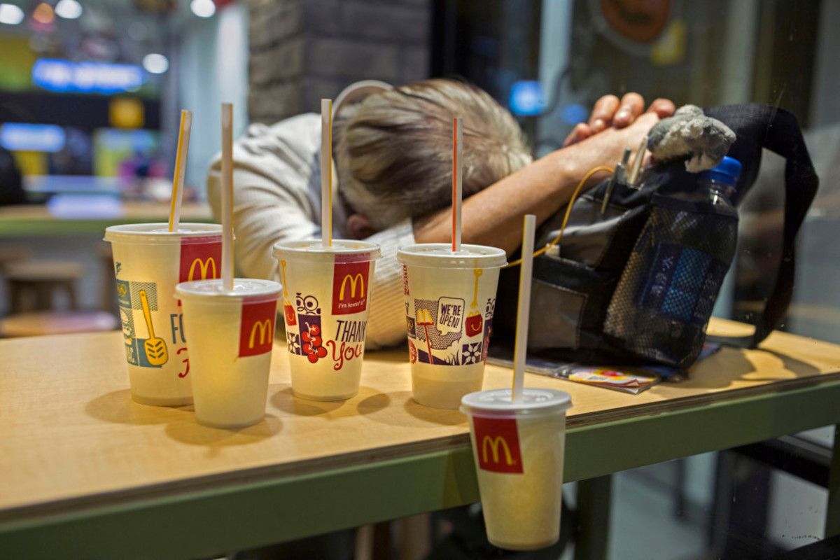 McRefugee:The Homeless People of Hong Kong
