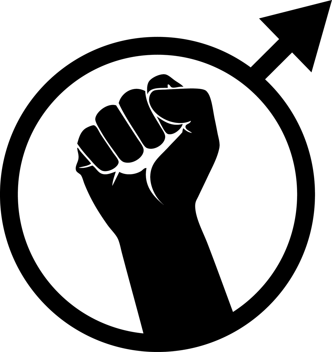 Symbol of the Men's Rights Movement.