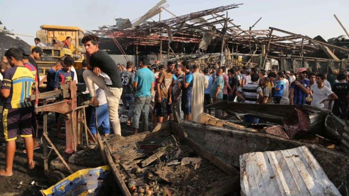 ISIS Bombings in Baghdad Bear Some US Responsibility