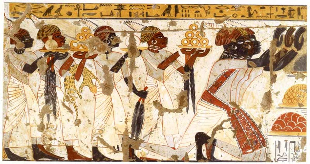 For a short time, Nubians ruled Egypt and adopted much of their culture.  The Egyptians however resented this from people they saw as  servants and not Egyptian