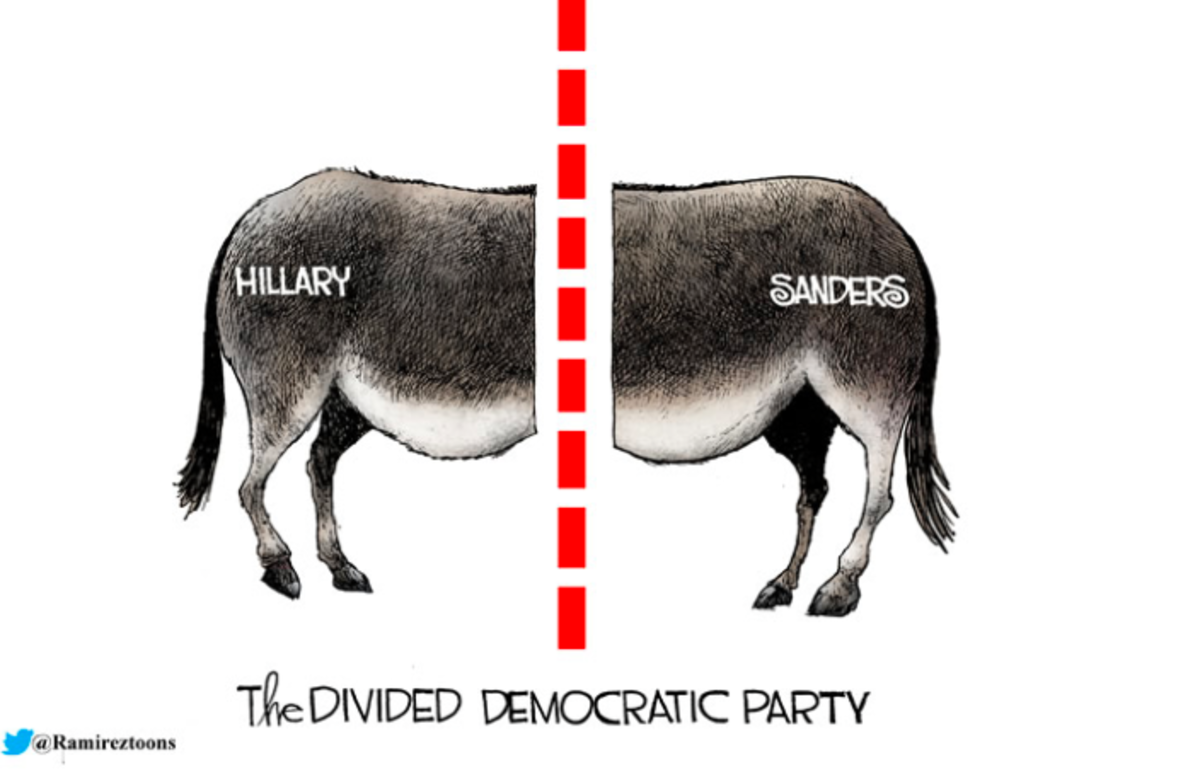 Bernie Sanders v. The Democratic Party