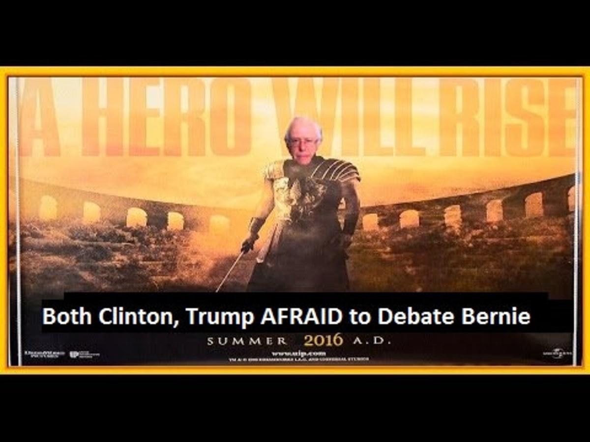 Sanders supporter Photoshop image