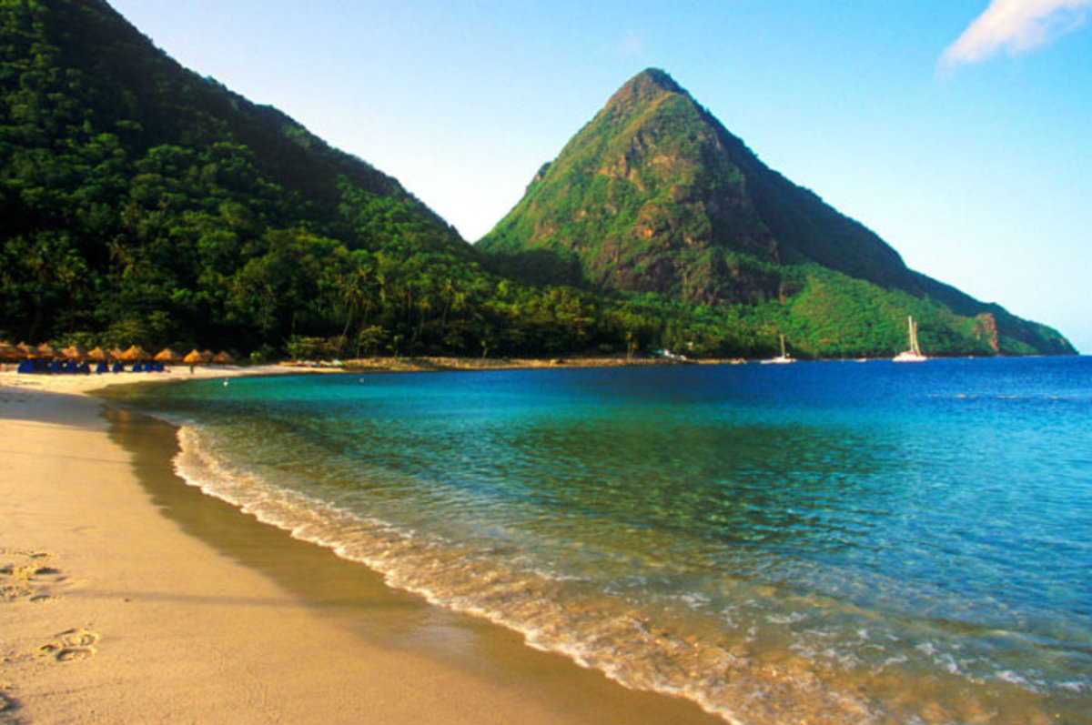 The shimmering beaches of St. Lucia promise donkeys and elephants alike a splendid place to bask on the beach while squirreling away money at the hard-working middle class taxpayer's expense.