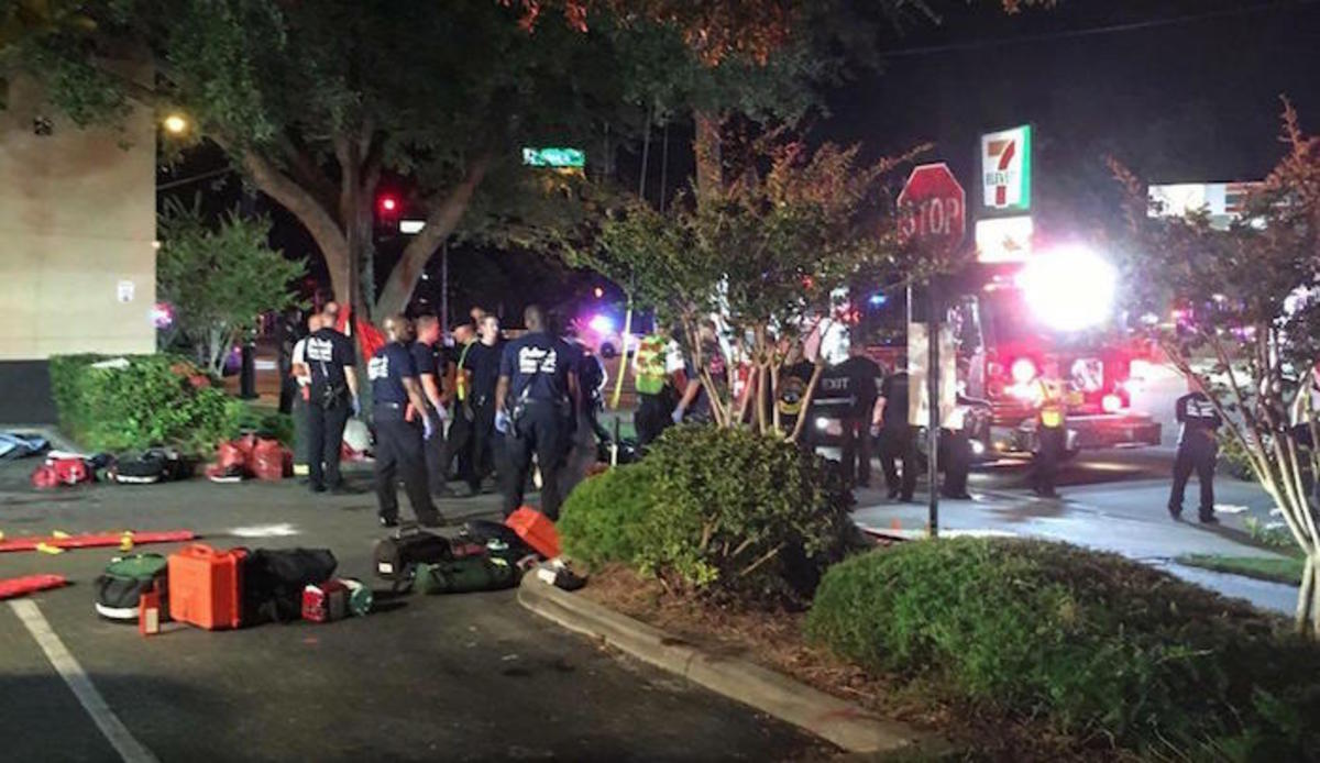 Terror in Orlando Nightclub