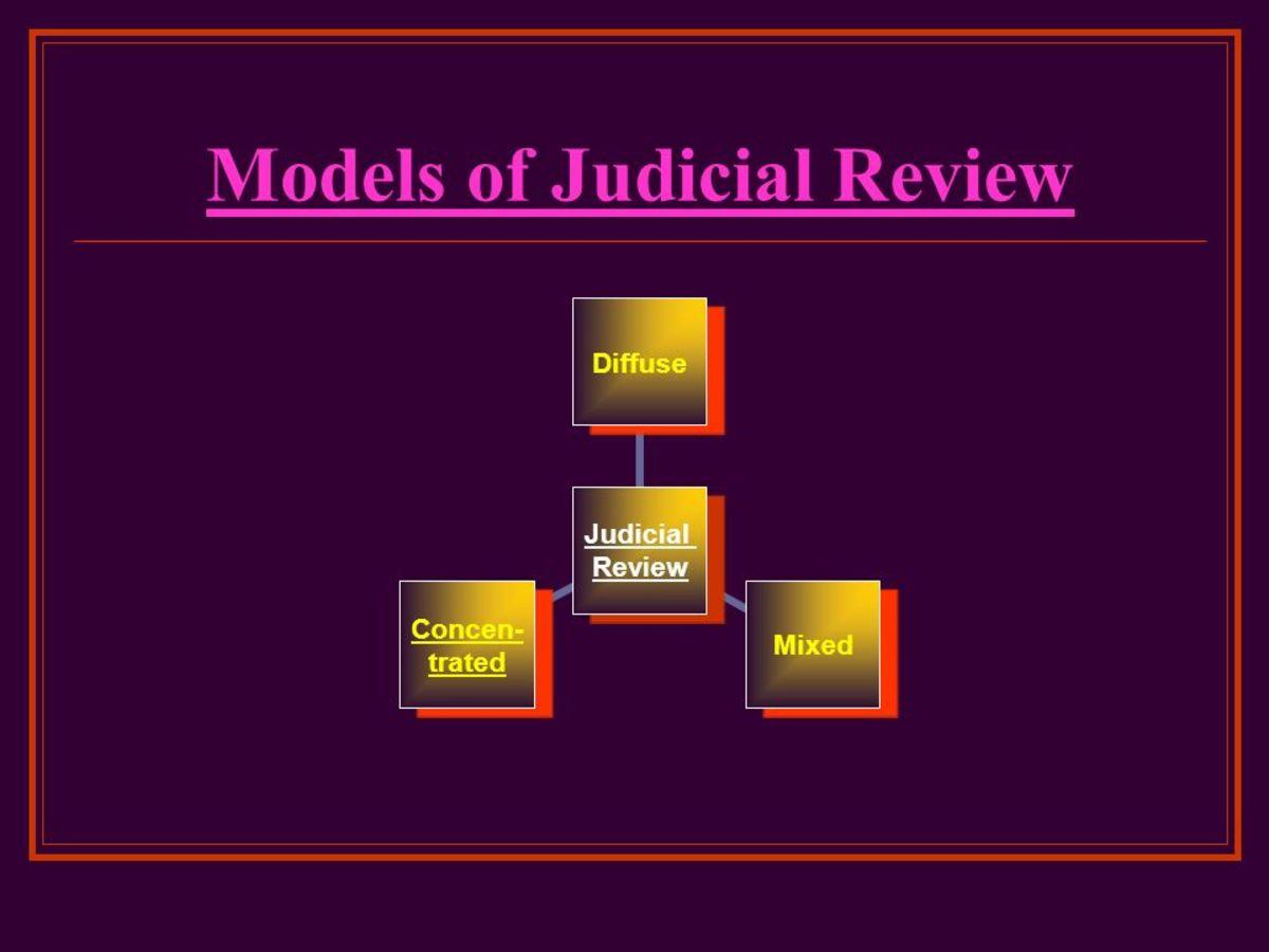 Models of Judicial Review
