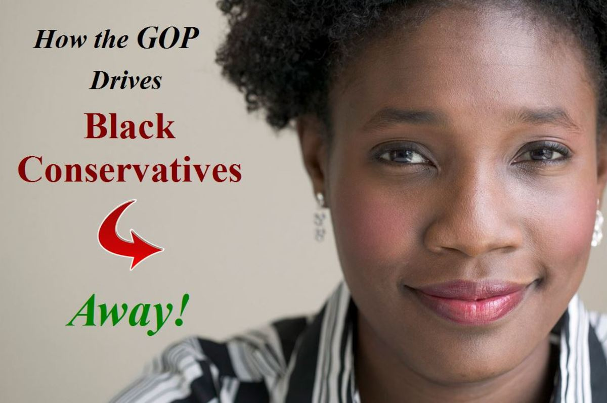 How the Republican Party Drives Black Conservatives Away