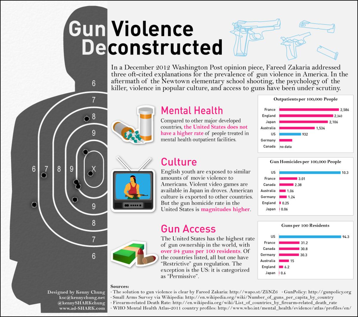 two extreme views on gun control essay