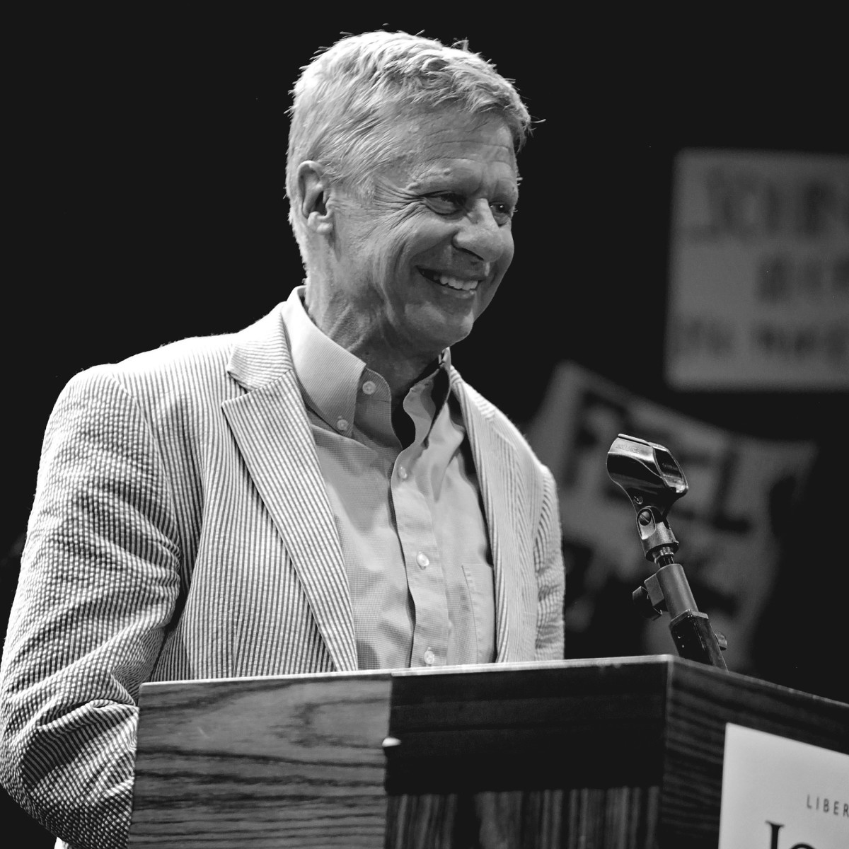 Is Gary Johnson for a viable candidate for the US Presidency?