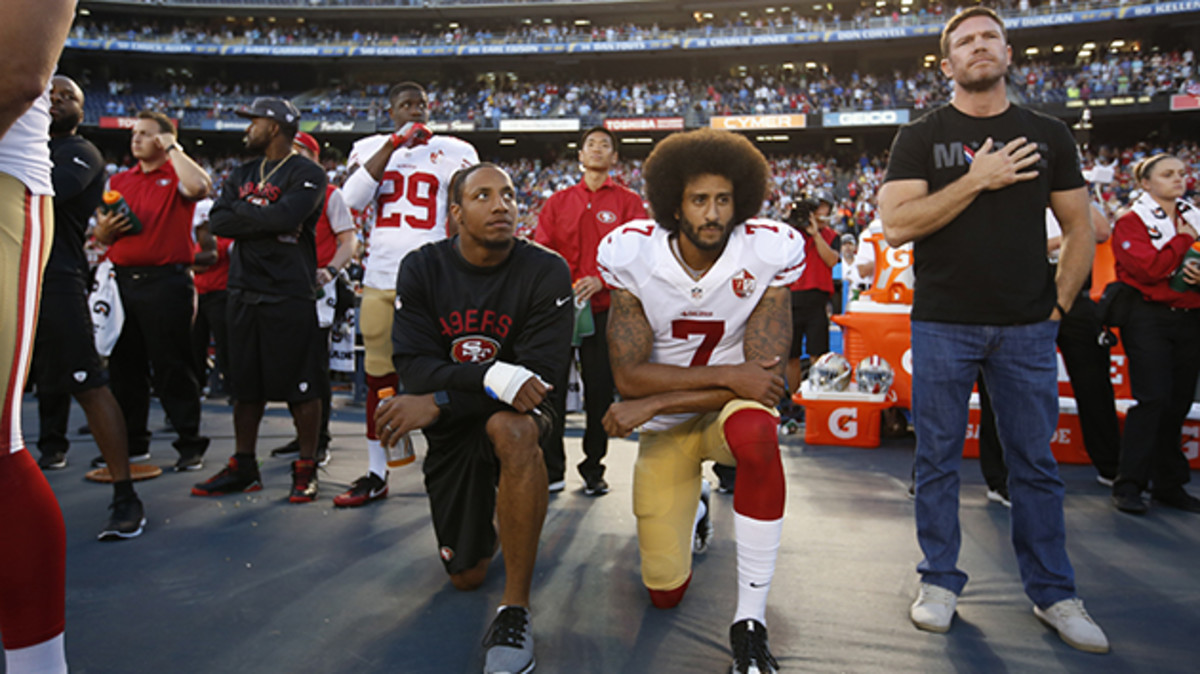 If You Think Kneeling During the Anthem is Right, Think Again
