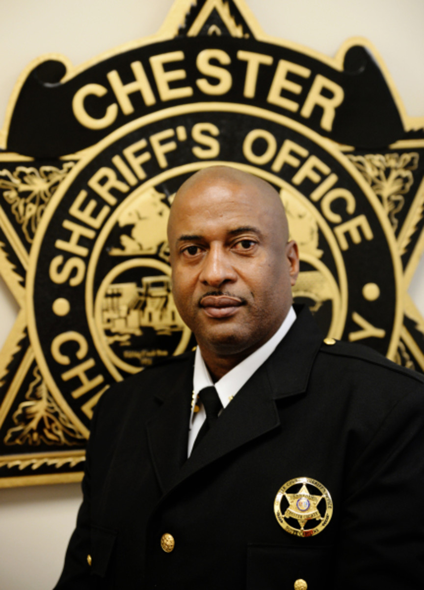 Chester County Sheriff Alex Underwood, Chester, S.C.