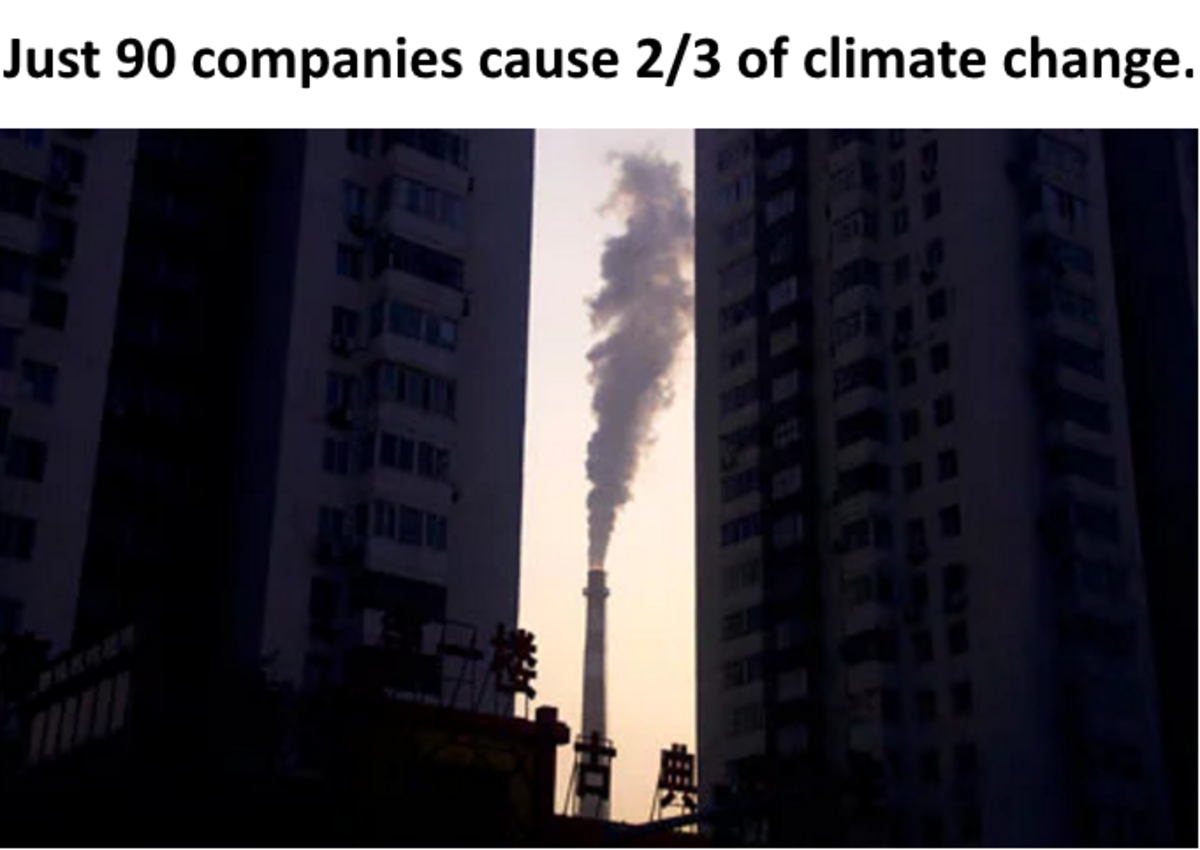 The climate crisis of the 21st century has been caused largely by just 90 companies, which between them produced nearly two-thirds of the greenhouse gas emissions generated since the dawning of the industrial age, new research suggests.