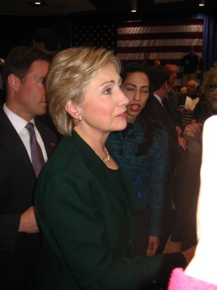 Loser Hillary Clinton.