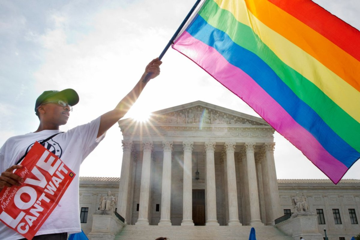 Gay rights had made significant progress in the last two years.  Rights that were fought and paid for.