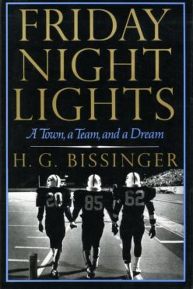 """The iconic novel """"Friday Night Lights,"""" set in West Texas, highlights America's love of high school football."""