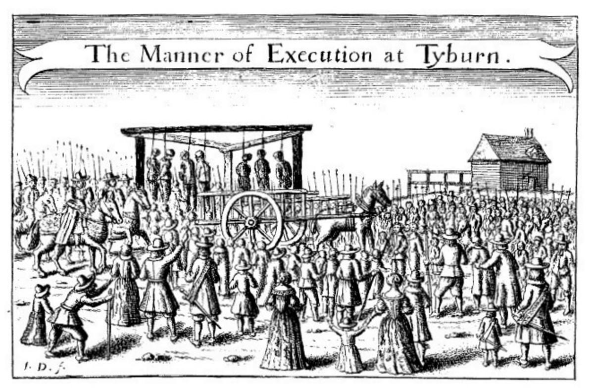Public executions in the 17th century were festive occasions, except, of course, for those who provided the main attraction.