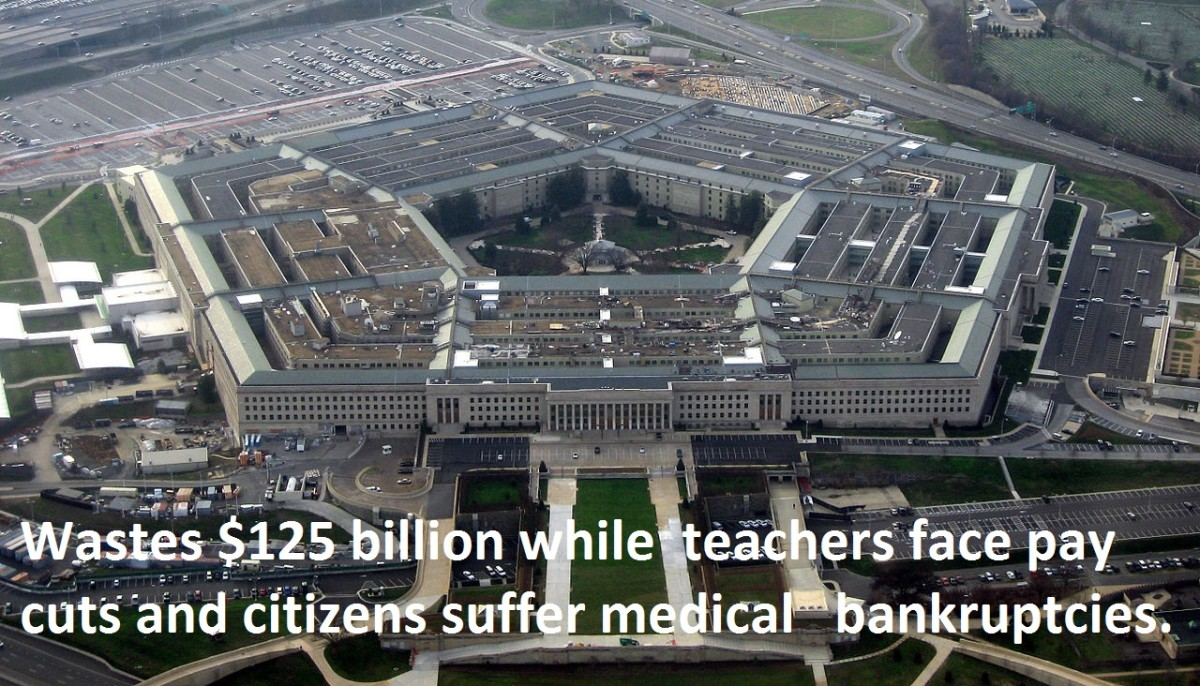 Let's Put the Pentagon's Unneeded $125 Billion Into Healthcare and Education