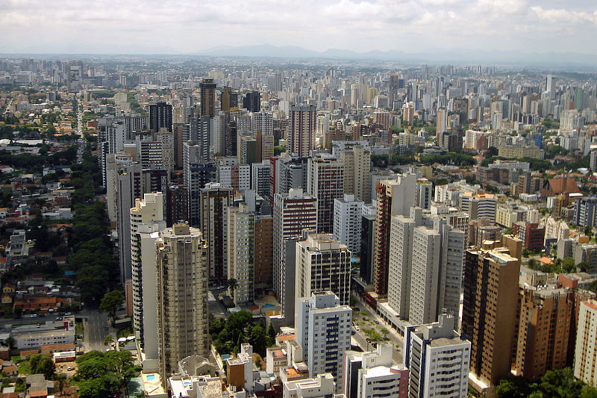 Curitiba, Brazil, one of the most sustainable cities in the world